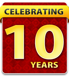 celebrating ten years of superior sprinkler repair service in Sacramento California